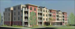 Artist's Rendering of Collingwood Green; Brand New Apartments in Toledo, OH